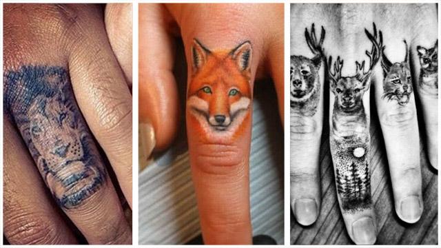 TatuajesAnimalDedos