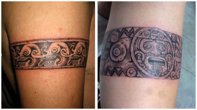 TatuajesBrazaleteAzteca