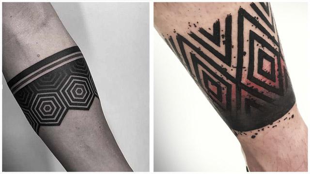 TatuajesBrazaleteGeometrico