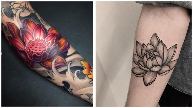 Tatuajes De Flor De Loto 2020 Significado Y 21 Ideas Para