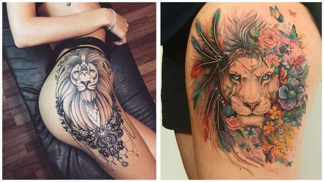 Tatuajes De Leones 2020 Significado Y 18 Ideas Para Inspirarte